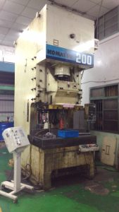 Our Equipment - Metal Stamping Companies